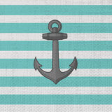 Anchor. Vector icon Royalty Free Stock Photos