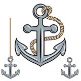 Anchor vector icon. Royalty Free Stock Photo