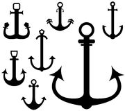 Anchor. Vector illustration (EPS 10 Royalty Free Stock Images