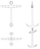 Anchor Vector Stock Image