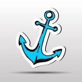 Anchor vector symbol icon illustration marine old nautical. Anchor vector symbol icon illustration marine old royalty free illustration