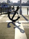 Anchor in wharf Stock Photos