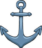 Anchor. On a white background vector Royalty Free Stock Photos