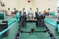 Anchor Winch Stock Photography