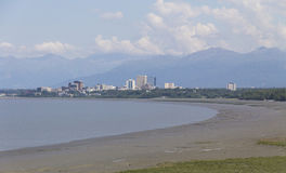 Anchorage, Αλάσκα Στοκ φωτογραφίες με δικαίωμα ελεύθερης χρήσης