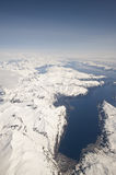 Anchorage aerial Stock Images