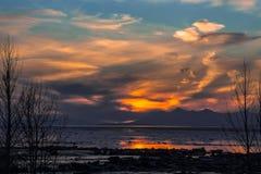 Anchorage, Alaska Royalty Free Stock Photos