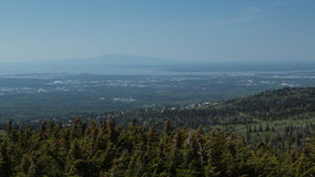 Anchorage and Mount Susitna Stock Photos