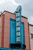 Anchorage 5th avenue sign. Anchorage 5th avenue vintage sign royalty free stock images