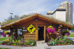 The Anchorage Visitor Information Center Royalty Free Stock Photo