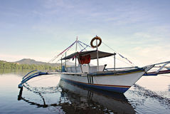 Anchored Boat Royalty Free Stock Image