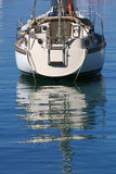 Anchored boat Stock Photography