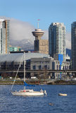 Anchored in False Creek, Vancouver Royalty Free Stock Photos