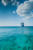 Anchored in Paradise. Dropped Anchor in the beautiful Cayman Islands stock photos