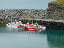 Anchoring boats Stock Photos