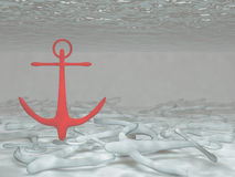 Anchors Stock Photo
