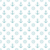 Anchors with Rudder background. Royalty Free Stock Photography