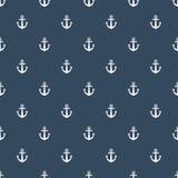 Anchors seamless pattern. Stock Photo