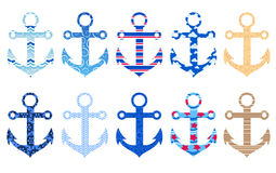 Anchors Royalty Free Stock Photography