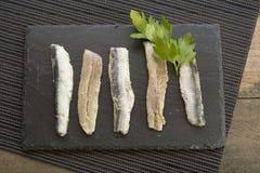anchovas Imagens de Stock Royalty Free