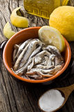 Anchovies Royalty Free Stock Photo