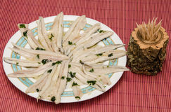 Anchovies appetizer Stock Photo