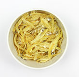 Anchovies in bowl Royalty Free Stock Images