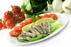 Anchovis Royalty Free Stock Photography