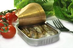 Anchovis Royalty Free Stock Image