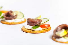 Anchovy filet Stock Image