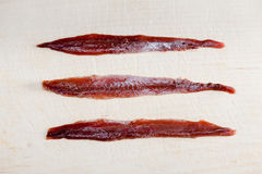 Anchovy fillets Stock Image