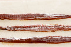 Anchovy fillets Royalty Free Stock Photo