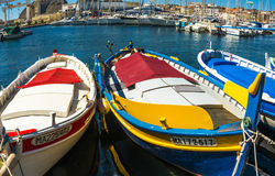 Anchovy fishing boats La Ciotat Royalty Free Stock Images