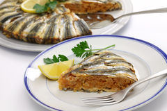 Anchovy pilaf(hamsi pilav) Stock Photo