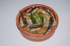 Anchovy rice, Hamsi Pilav, Hamsi Güveç Stock Photos