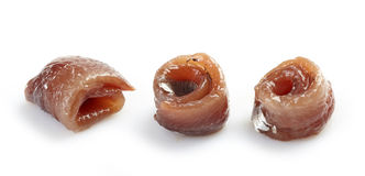 Anchovy roll Royalty Free Stock Photography