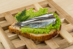 Anchovy tapas Royalty Free Stock Photo