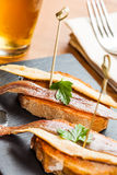 Anchovy tapas Royalty Free Stock Images