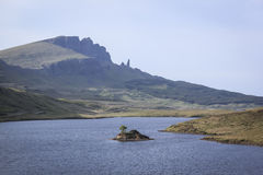 Ancião da ilha do storr do skye Imagem de Stock Royalty Free