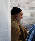 Ancião em Istambul. Imagem de Stock