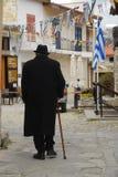 Ancião em Paphos fotografia de stock
