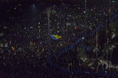 Anci korupcja protesty w Bucharest Fotografia Royalty Free