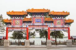 Ancident Chinese Building Royalty Free Stock Photos
