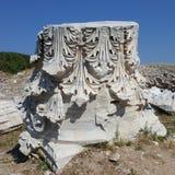 Ancie t stad av Kyzikos i Balıkesir Turkiet Royaltyfria Bilder