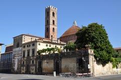 Ancien城镇Lucca Toscana 免版税库存图片