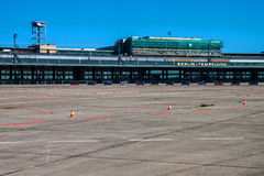 Ancien aéroport du Tempelhof, Berlin Photos stock