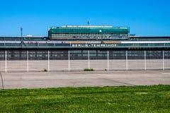 Ancien aéroport du Tempelhof, Berlin Image stock