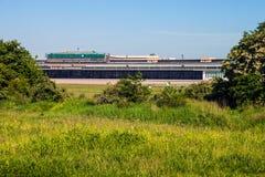 Ancien aéroport du Tempelhof, Berlin Images libres de droits