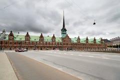 Ancien bâtiment de bourse des valeurs  Photos libres de droits