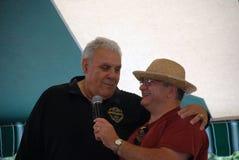 Ancien CFL Hamilton TiCat et pro lutteur Angelo Mosca Image libre de droits